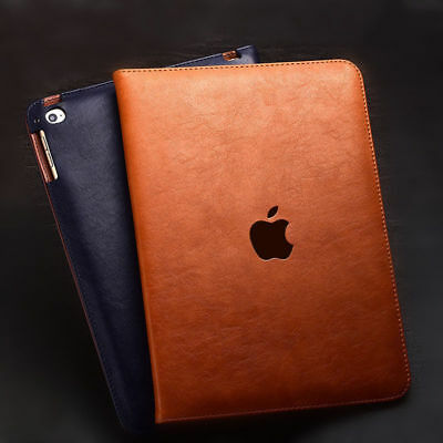 $10.89 • Buy For IPad 10.2  7th Gen 2019 & 9.7  (5/6th Gen) Genuine Leather Stand Cover Case
