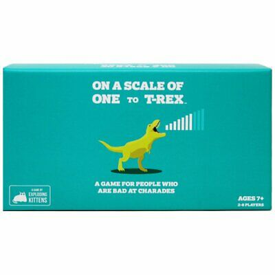 AU33.45 • Buy On A Scale Of One To T Rex (By Exploding Kittens)