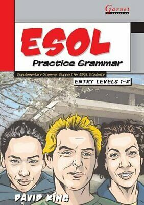 £12.76 • Buy ESOL Practice Grammar: Entry Level 1-2 By David King New Book