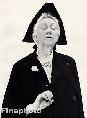 $157.46 • Buy 1958 Marianne Moore By Richard Avedon Poet Writer Modernist Vintage Photo Art