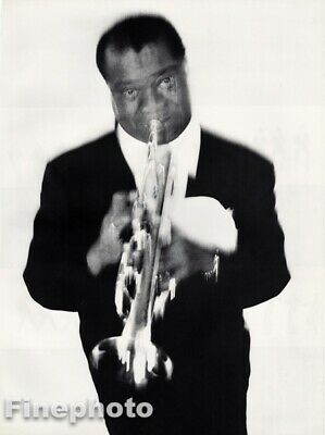 $167.42 • Buy 1956 Louis Armstrong By Richard Avedon Jazz Trumpeter Singer Vintage Photo Art