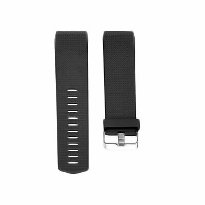 $ CDN8.79 • Buy Luxury Silicone Band Strap Buckle For Fitbit Charge 2 Replacement