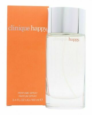 CLINIQUE Happy 100ml EDP For Women BRAND NEW Spray Authentic Free Delivery • 29.99£