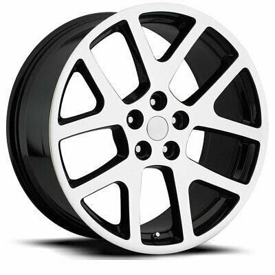 $338.24 • Buy FACTORY REPRODUCTIONS FR 64 Jeep Viper 22X9 5X115 ET18 Blk Mach Face (Qty Of 1)