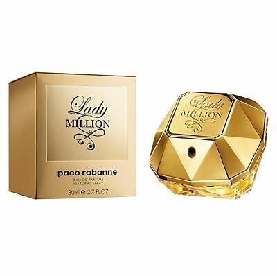 PACO RABANNE Lady Million 80ml EDP For Women BRAND NEW Spray Authentic • 51.50£