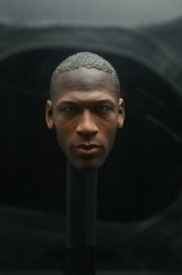 $19.99 • Buy Custom Michael Jordan 1/6 Head Sculpt Fit Hot Toys Enterbay Body
