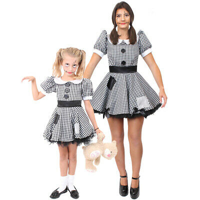 £19.99 • Buy Broken Doll Costume Adult Or Childs Halloween Horror Scary Fancy Dress Outfit