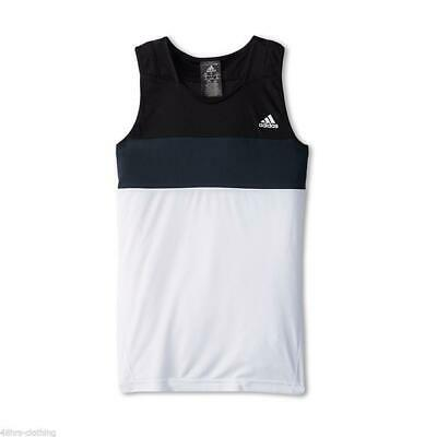 Adidas Performance Girls Tennis Tank Top G Response Vest Youth Kids D80686 • 10.19£