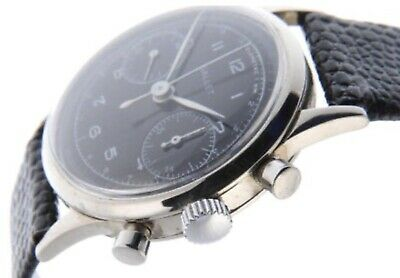 $ CDN3198 • Buy Rare Chronograph Gallet Multichron 45M (black Dial Vintage Watch - Montre 1942)
