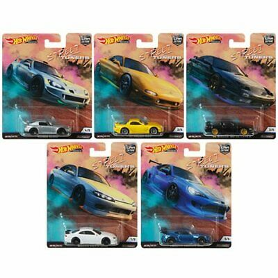 Hot Wheels 2019 Car Culture Street Tuners Series Set Of 5 Cars FPY86-956L • 33.95$