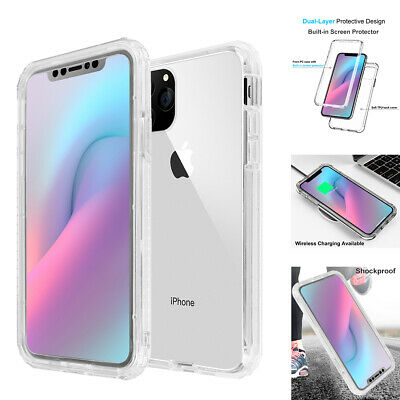 AU13.89 • Buy For IPhone 11 Pro Max Case Front+Back Full Body Shockproof Hard Heavy Duty Cover