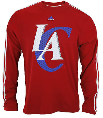 $24.99 • Buy Adidas NBA Basketball Men's Los Angeles Clippers Long Sleeve Thermal Shirt - Red