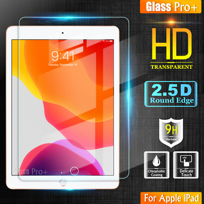 AU10.49 • Buy For Apple IPad 7th 8th 6th 5th Gen Air 1 2 Tempered Glass Pro+ Screen Protector