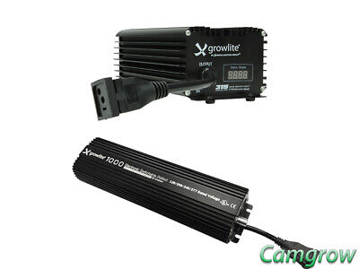 GrowLite 315W  Ballast Or 1000W DE Switchable Slim Ballast Hydroponic  Lighting  • 184.99£