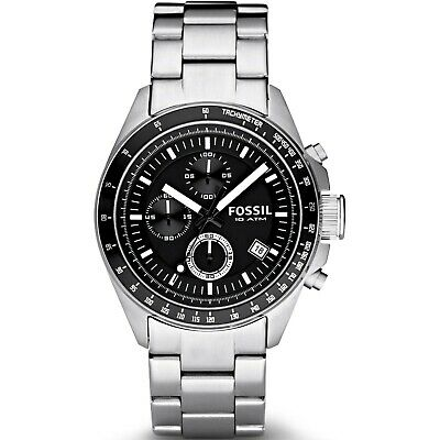 View Details Mens Fossil Decker Chronograph Watch CH2600IE • 45.00£