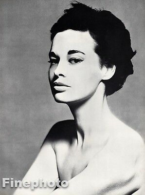 $268.27 • Buy 1954 Vintage GLORIA VANDERBILT Fashion Designer Photo Art 16x20 ~ RICHARD AVEDON