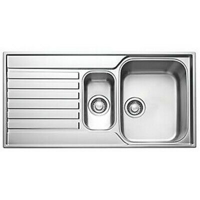 Franke Ascona Inset Sink Stainless Steel 1.5 Bowl 1000 X 510mm Asx 651 • 159.99£