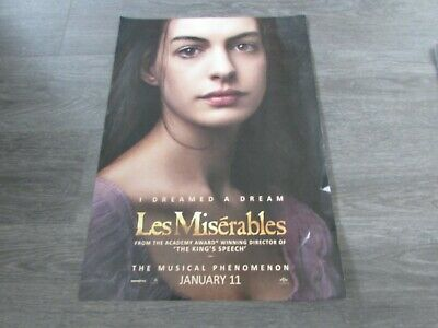 £21.99 • Buy Les Miserables I Dreamed A Dream Musical Phenomenon Broadway US Show Poster