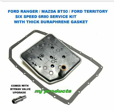 AU155 • Buy Ford Ranger And Bt50 6r80 Transmission Service Kit With Thermal Bypass Valve