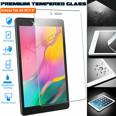 £4.95 • Buy TEMPERED GLASS Screen Protector For Samsung Galaxy Tab A 8.0 2019 (SM-T290/T295)