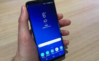 $ CDN399.99 • Buy Samsung Galaxy S9 SM-G960 - 64GB - Midnight Black (Unlocked) Smartphone