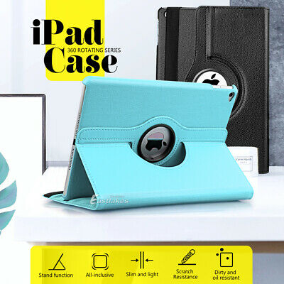 AU10.95 • Buy 360° Rotate Leather Case Cover For Apple IPad Air 1st 2nd IPad 5th 6th Gen 9.7