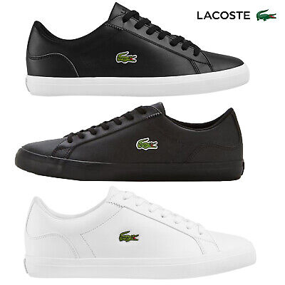 Unisex Lacoste Lerond Trainers Smart Casual Low Top Sports Leather Shoes • 59.95£