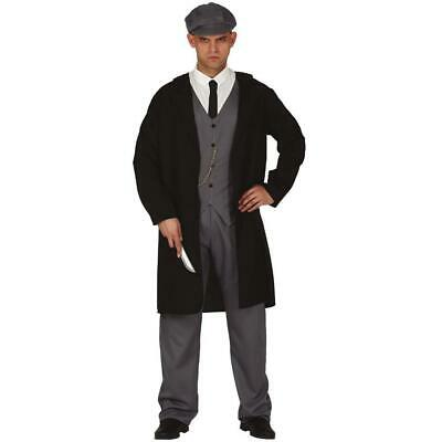 Peaky Gangster Shelby Style Vintage Mens Costume Fancy Dress Party Outfit • 22.89£