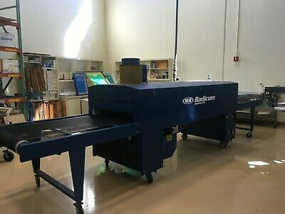 $9500 • Buy 2005 M And R Radicure 36  Electric Screen Printing Dryer