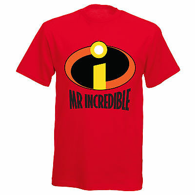 Mr Incredible Inspired Fathers Day Step Dad Boys Mens Funny T Shirt T-Shirt • 11.99£
