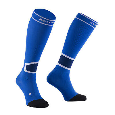 £29.99 • Buy Zeropoint Intense 2.0 Compression Socks For Running And Recovery - Blue & White