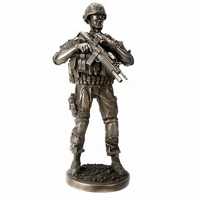 12.5  Reporting Detail Soldier Statue Military Armed Forces Infantry Figure War • 51.21£