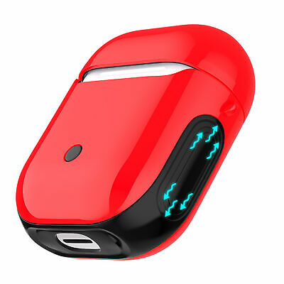 $ CDN7.58 • Buy For Airpods Wireless Bluetooth Headset Cover Hard Case 2 In 1 TPU+PC ATF