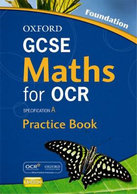 Oxford GCSE Maths For OCR Foundation Practice Book And CD-ROM: Specification A,  • 3.29£