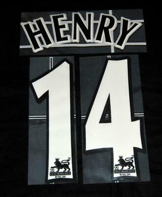 $20.89 • Buy Official Arsenal Henry 14 Football Shirt Name/number 2004/05 Lextra Sporting ID