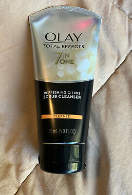 $9.79 • Buy Olay Total Effects 7 In One Refreshing Citrus Scrub Cleanser Cleanse 150ml,5oz