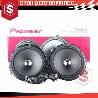 AU175 • Buy Pioneer TS-A1600C 6.5  2-Way 350Watts 4-Ohms Component Car Speakers