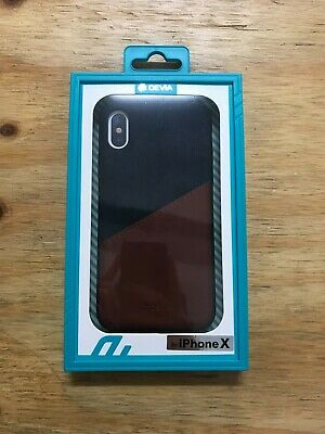 AU15 • Buy IPhone X/XS Devia Wallet Case; Brand New In Box, Denim Style With Card Holder