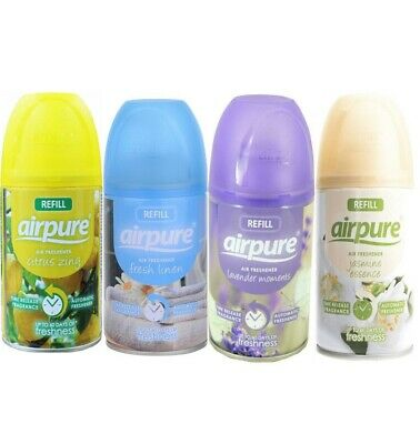 2 Tins Airpure Refill 250ml Various Fragrances To Choose Fit Most Dispensers • 6.75£