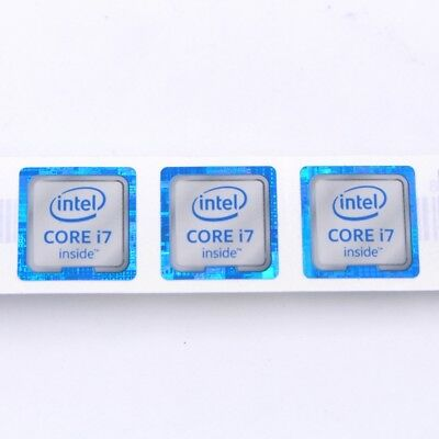 $ CDN7.58 • Buy 20 X New CORE I7 Inside Tm Laptop PC DIY Sticker Label Badge  18*18 Mm ST042
