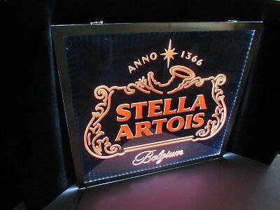 $ CDN117.29 • Buy NEW Stella Artois Belgium Opti LED Neo Neon Beer Sign Light Bar Man Cave No Tap