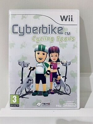 Wii Cyberbike With Manual - VGC • 12.75£