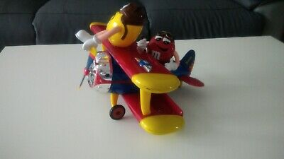 M&Ms Airplane Sweet Dispenser - Big M & M Plane • 9£