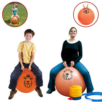Retro Space Hopper Toy Large Ball Adult Kids Bounce 60cm / 80cm • 13.79£