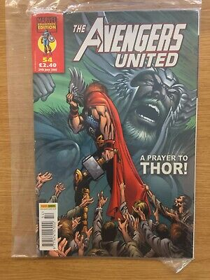 Marvel The Avengers United Collectors Edition Vol 1 54 Panini Uk • 3.95£