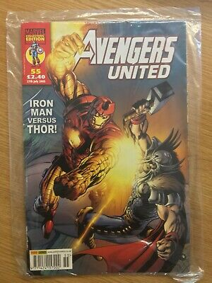 Marvel The Avengers United Collectors Edition Vol 1 55 Panini Uk • 6.99£