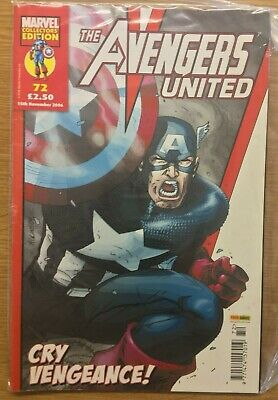 Marvel The Avengers United Collectors Edition Vol 1 72 Panini Uk • 4.75£