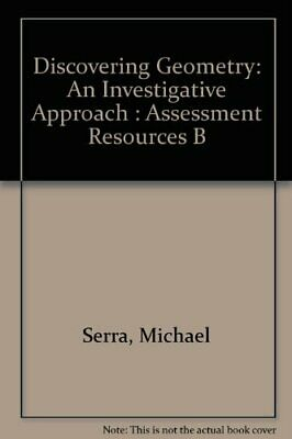 $5.89 • Buy Discovering Geometry  An Investigative Approach   Assessment Resource