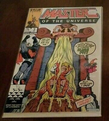 $11.79 • Buy Masters Of The Universe #3 Marvel Star Comics VF