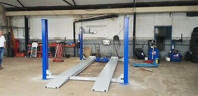4 Post Ramp Service. Inspection Of Car Lift. Includes MOT Lifts • 75£